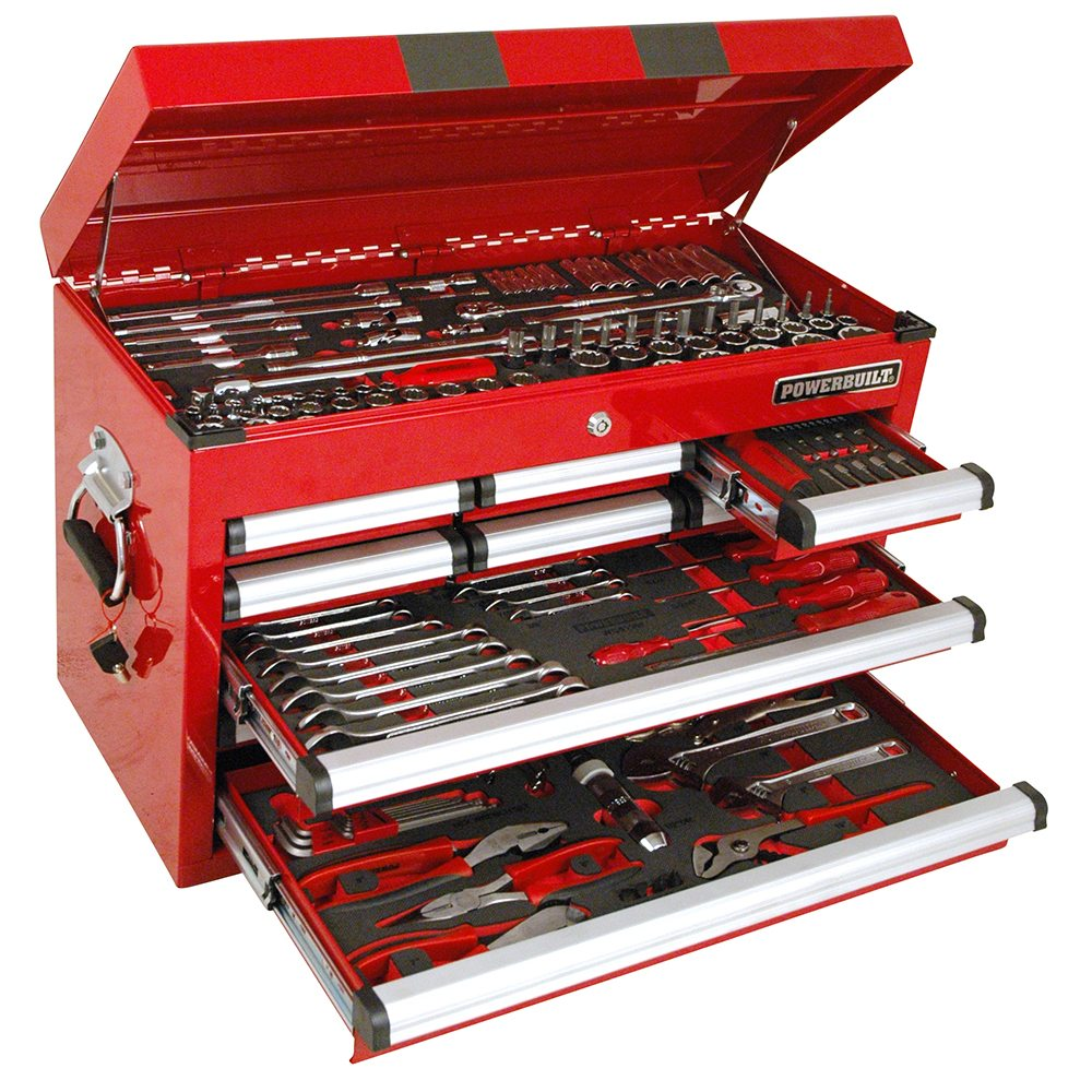 189pc Tool Chest u0026 Assorted Tools  sc 1 st  Powerbuilt Tools & Storage Units with Assorted Tools Archives - Power Built Tools